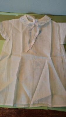 antique gown  3 mo 6 mo size  ckean sheer perfect