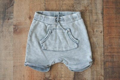 H&M Baby Boys Gray Knit Shorts 4-6 months