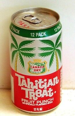 Tahitian Treat; Coca-Cola Bottling Company of Wisconsin;Chicago IL; Soda pop can