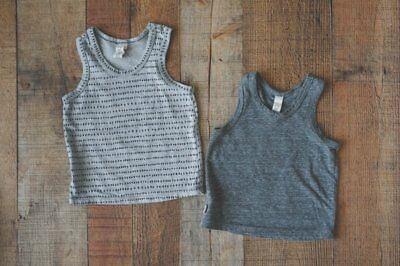 Childhoods Clothing Set of 2 Knit Tanks 6-12 months