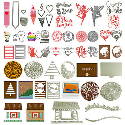 Metal Cutting Dies Stencil Scrapbook Paper Cards Craft Embossing DIY Die-Cut A