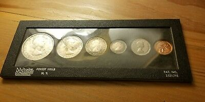 1958 Canadian Silver Mint Set (Partial Toning)