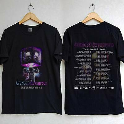 Avenged Sevenfold THE STAGE WORLD Tour 2018 T SHIRT - Copy new