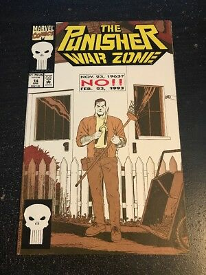 The Punisher:War Zone#14 Incredible Condition 9.0(1993)