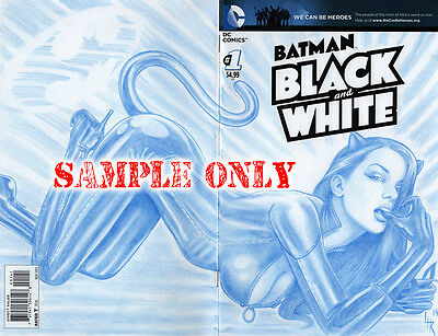 "COMIC BABES - ""Your Choice"" Original Art  Sketch Cover by Artist Lance HaunRogue"