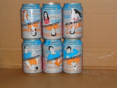 coca cola cans from France,cc light;330ml;grade 1 condition.