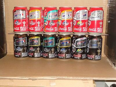 coke  cans from France for the Rugby W/C in 2007,330ml/ b/o.