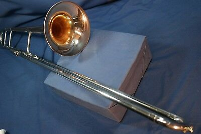 "1956 Los Angeles F. E. Olds ""Super"" Tenor Trombone w/Case, Mpc"