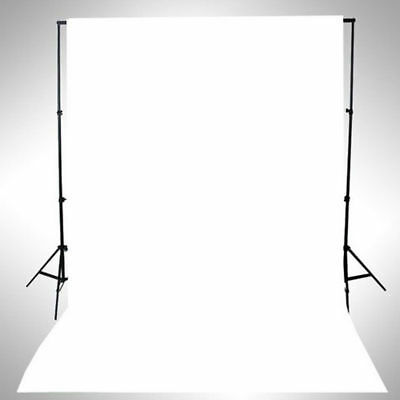 WHITE Thin Vinyl Photography Backdrop Background Studio Photo Prop Durable 3x5f
