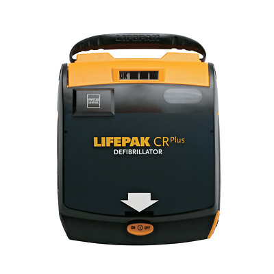 New in Box Lifepak CR Plus AED w/ 2020 Battery and Pads 6 Year Warranty