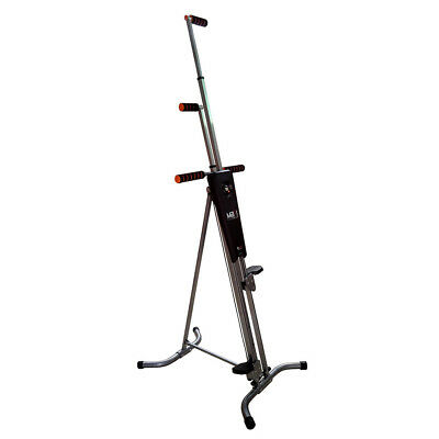 Adjustable Fitness Exercise Maxi Climber Stepper Cardio Workout Vertical Machine