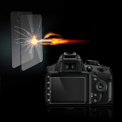 Tempered Glass Film Camera LCD Screen Protector for Nikon D3100/D3200/D3300 KJ