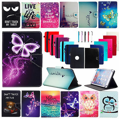 """For Samsung Galaxy Tab 2/3/4 7"""" 8"""" 10.1"""" Tablets Universal PU Leather Case Cover"""