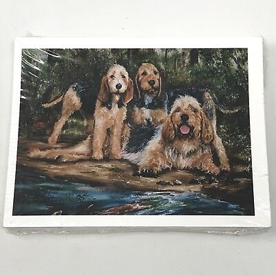 OTTERHOUND Notecards Set of 12 - Best Friends Ruth Maystead NIP NOS