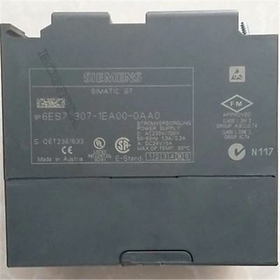 Used 1Pcs PS307 Siemens 6ES7 307-1EA00-0AA0 24Vdc 5A Power Supply Plc Module tc