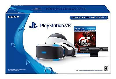 PlayStation 1st VR GT Sport Bundle PSVR Headset PS4  Gran Turismo