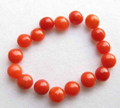 6.90 Cts Excellent Quality Natural Red Italian Coral Loose Gemstone lot