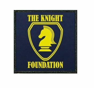 049D Funny Embroidered Edge Patch From Our Tiv Range - Knight Rider