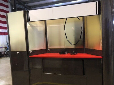 Custom Trade Show Display Booth, For 10' x 10' area, Used.