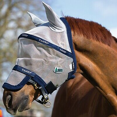 Rambo Fly Mask Plus Vamoose Flymask With Ears And Nose