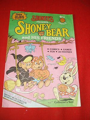 Vintage Comic Activity Book 9th Issue From Shoney's Restaurants - 1986!!!