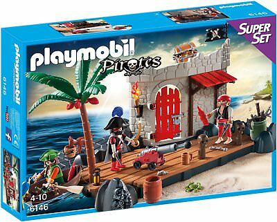 Playmobil 6146 - Super Set Piratenfestung NEU OVP