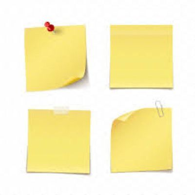Adhesive Notes 3 x 3 Inches 100 Sheet/Pad 12 Pack Yellow Sticky Post it Notes