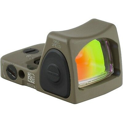 Trijicon RMR Type 2 RM06 3.25 MOA Adjustable LED Red Dot Sight, FDE - 700696