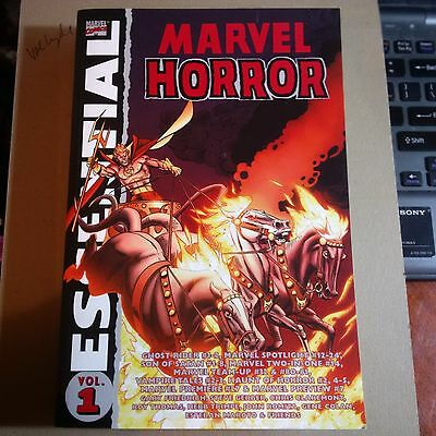 MARVEL ESSENTIAL HORROR TPB #1 (2006 Series) #1 sc SON of SATAN ghost rider