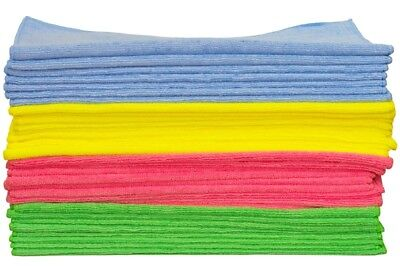 300GSM Microfibre Car Cleaning Detailing Drying Valeting Cloths 40 x 40 cm