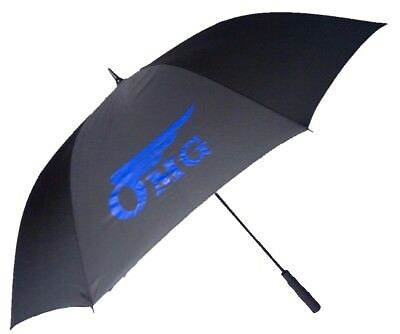 Golf Umbrella in Black with Windproof Fibreglass Frame & Shaft - Automatic Open