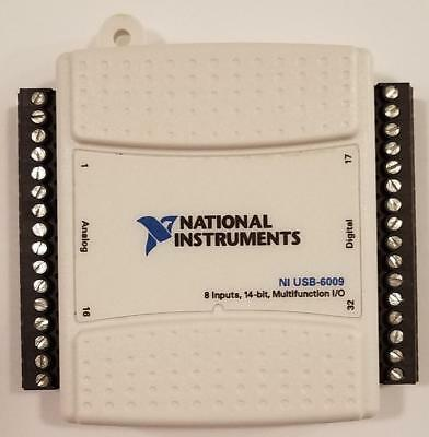 National Instruments USB-6009 Data Acquisition Card, NI DAQ, Multifunction