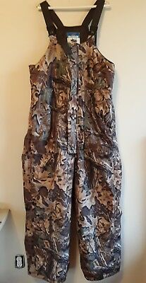Mens Walls Heritage Camo Water Pruf Breathable Overalls Size Xl Very Nice