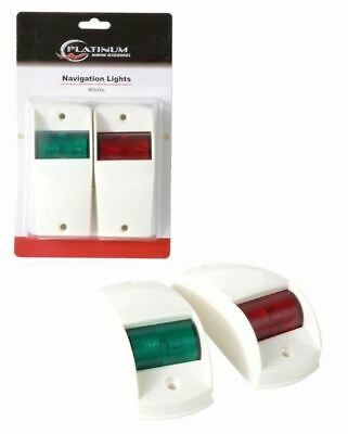 Platinum Navigation Lights White / Boat Accessories