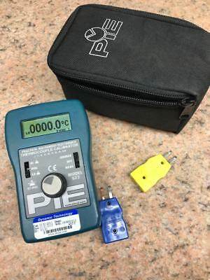 PIE 522 Thermocouple Calibrator   Types J K E T R S B N And Mv Selectable