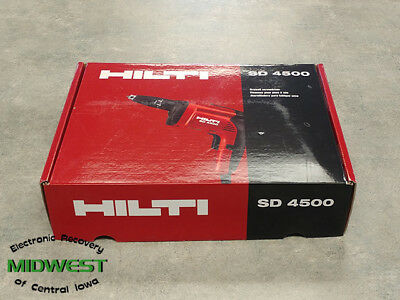 HILTI Corded SD 4500 Drywall Screwdriver New In Box