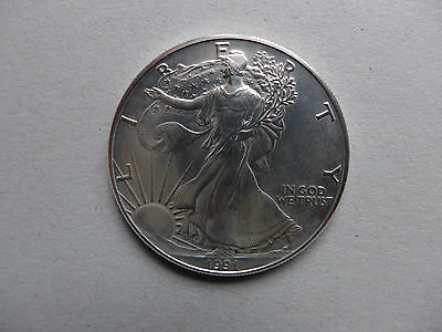 "Münze USA ""Liberty - In God we trust"" - 1991 - 1 Dollar - 1 Unze"