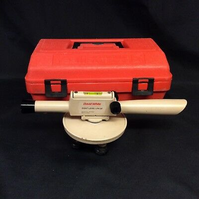 David White Instruments Sight Level LP6-20 With Case