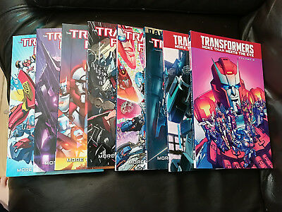 IDW Transformers More Than Meets The Eye Volumes 1 - 8