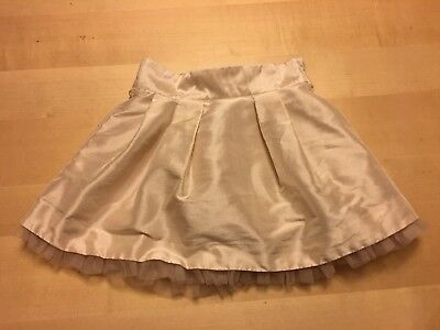 Janie And Jack Full Skirt, Cream Color, Size 4, Very Pretty!