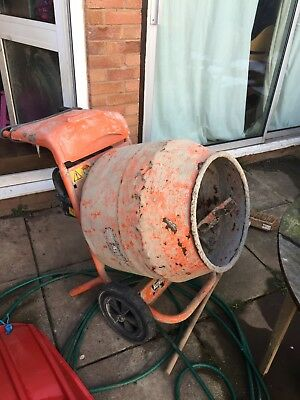 Belle Minimix 150 110v Mini Mix Cement mixer inc stand, transformer and lead