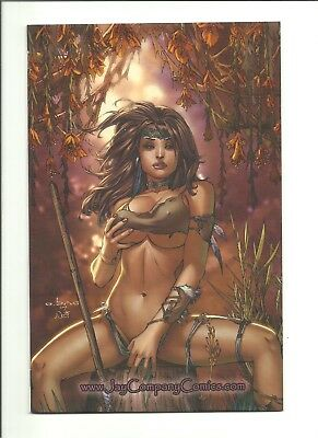Cavewoman Red Menace #1 Jay Co. convention variant Ebas limited to 500