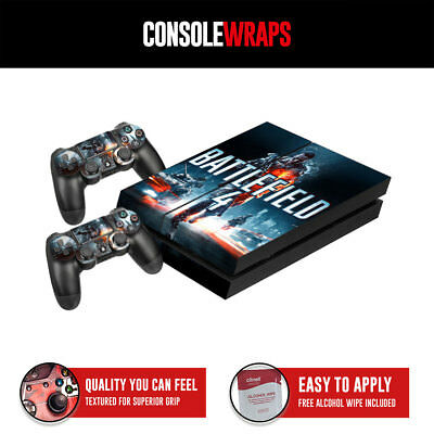 Battlefield 4 textured protective skin decal wrap ps4 console controllers
