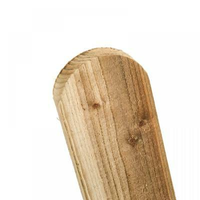 Picket Pales, Traditional, Pressure Treated, Round Top, 2ft, 3ft & 4ft