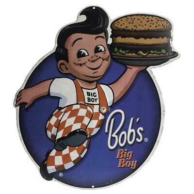 Bob's Big Boy Embossed Metal Sign