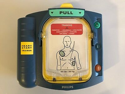 Philips Heartstart AED Onsite HS1 TRAINER M5085A GREAT Condition Free Shipping