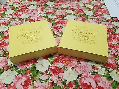 AVON 1982 MOTHERS DAY PLATE **LITTLE THINGS MEAN A LOT** NIB (2) ea.
