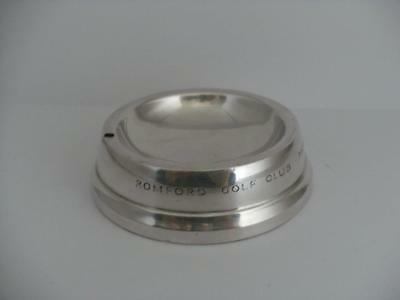 HALLMARKED SILVER ASHTRAY Birmingham 1965