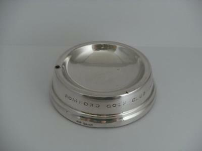 HALLMARKED SILVER ASHTRAY Birmingham 1968