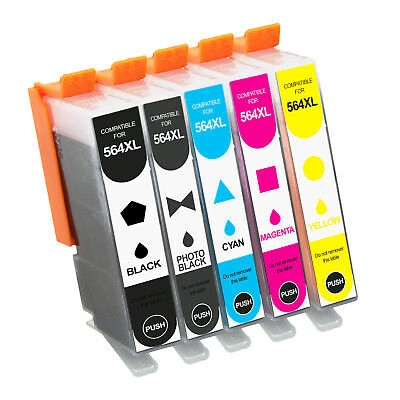 LOT New INK For HP 564XL Ink Cartridge Photosmart 6510 6520 7510 7520 Printer